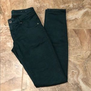 BlankNYC dark green jeans
